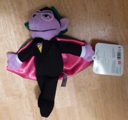 Sesame street the count plush 3