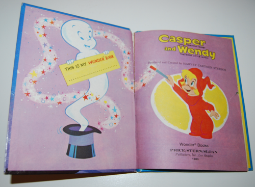 Casper & wendy vintage wonder book 1