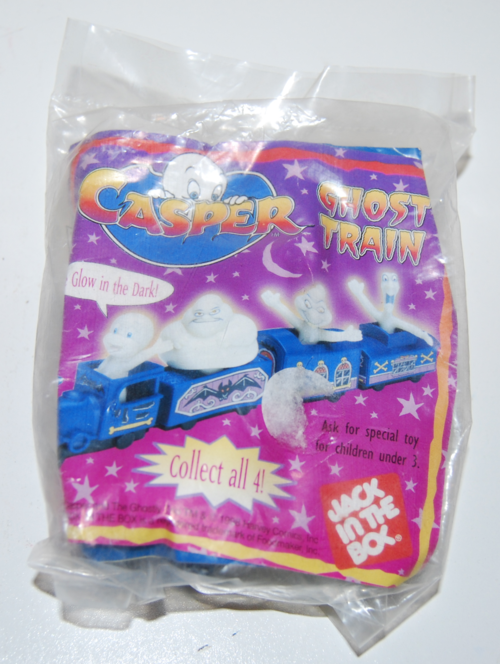 Casper glow in the dark ghost train toy