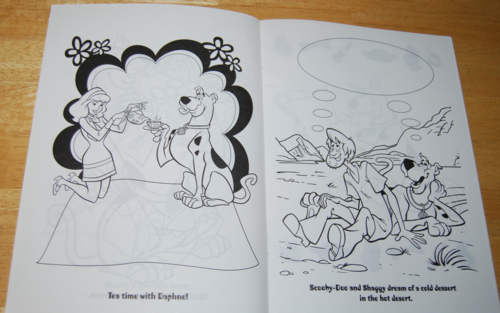 Scooby doo snackathon coloring book 2