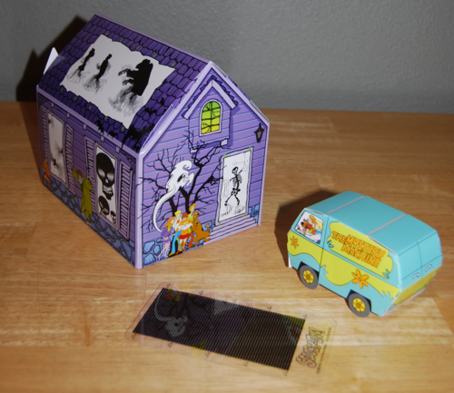 Scooby doo wendy's prize haunted house