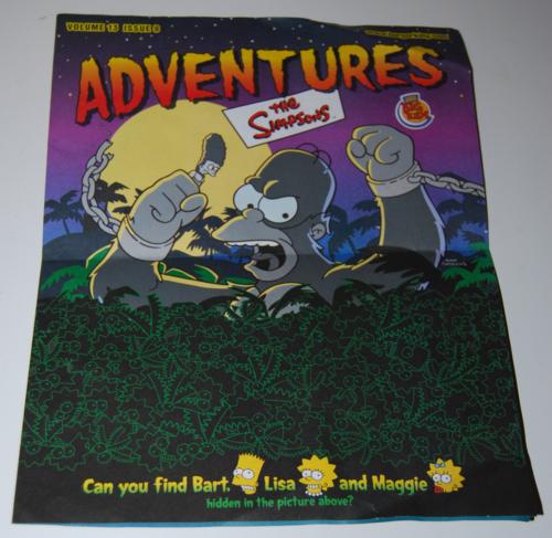 Simpsons adventures bk