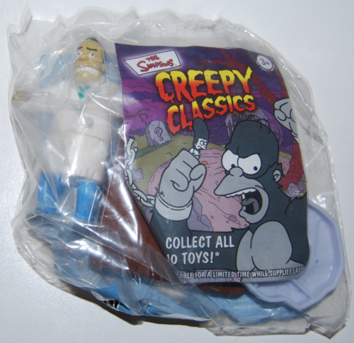 The simpsons creepy classics bk toys 7
