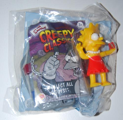 The simpsons creepy classics bk toys 2