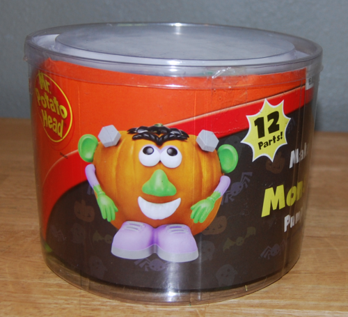 Mr potatohead make a monster
