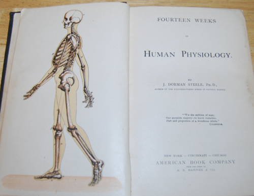 Steeles series vintage physiology book 1