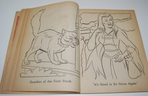 The munsters whitman coloring book 8