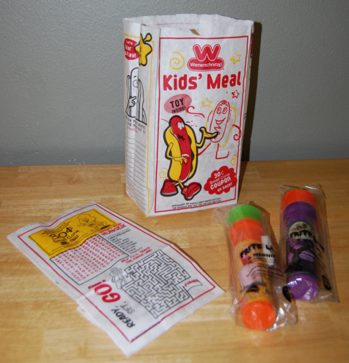 Weinerschnitzel kid's meal