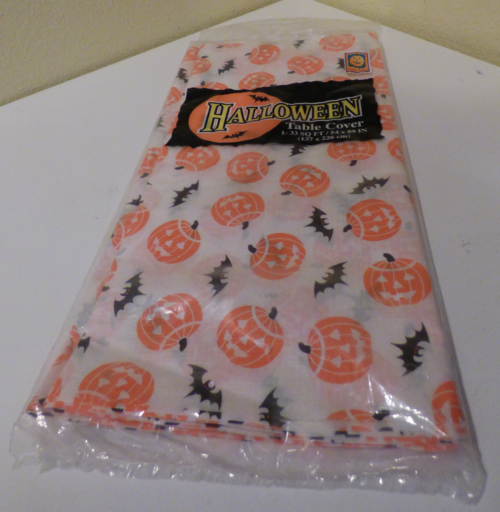 Halloween table cover