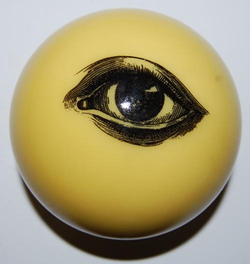 All seeing eyeball x