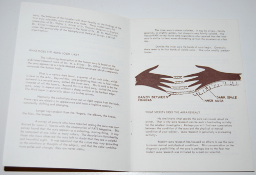 The human aura booklet 2