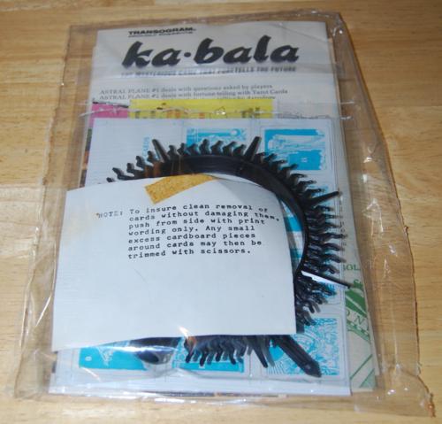 Kabala game transogram 11