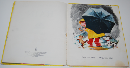 Rain book by virginia parsons 1961