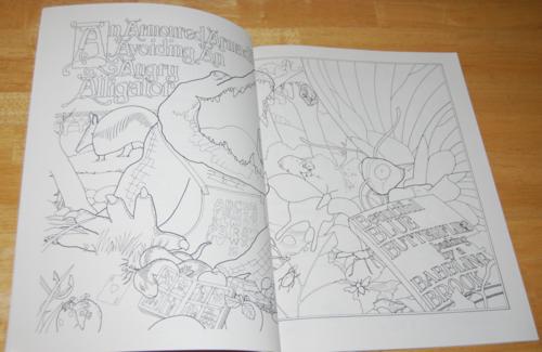 Animalia coloring book 2