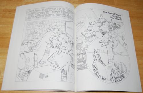 Animalia coloring book 5
