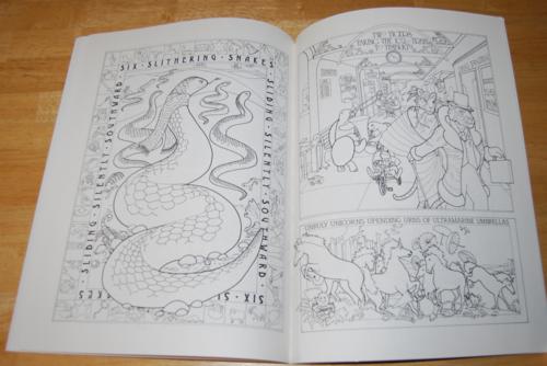 Animalia coloring book 6