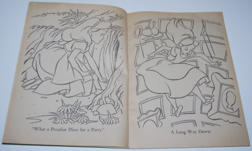 Alice in wonderland coloring book 2
