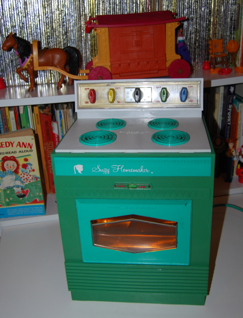 Vintage suzy homemaker stove oven toy 11