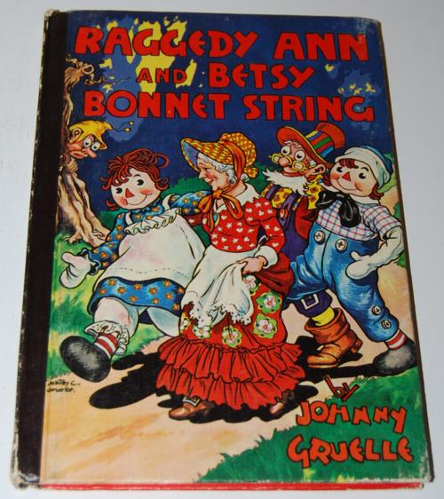 Raggedy ann & betsy bonnet string