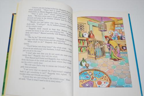 Raggedy ann in the magic book 6