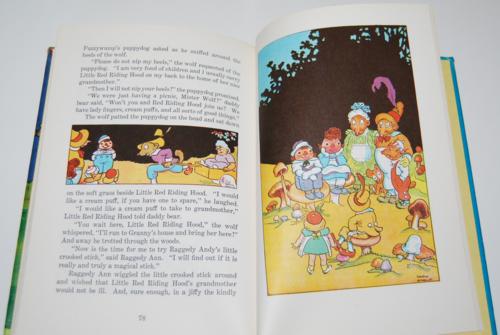 Raggedy ann in the magic book 8