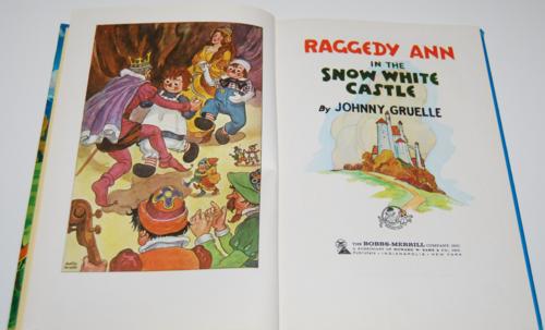 Raggedy ann in the snow white castle 1