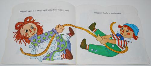 Raggedy ann golden book 2