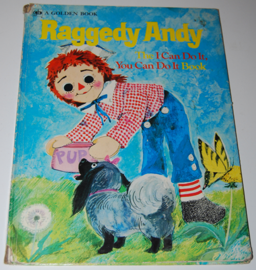 Raggedy andy book