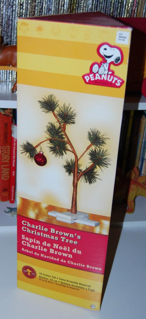 Charlie brown's xmas tree 1