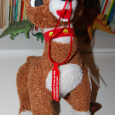 Singing rudolph plush toy 4
