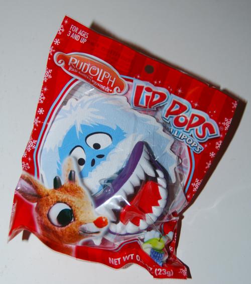 Rudolph lip pops