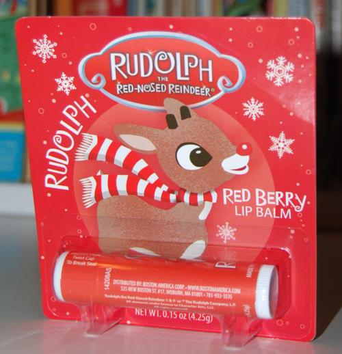Rudolph lip balm