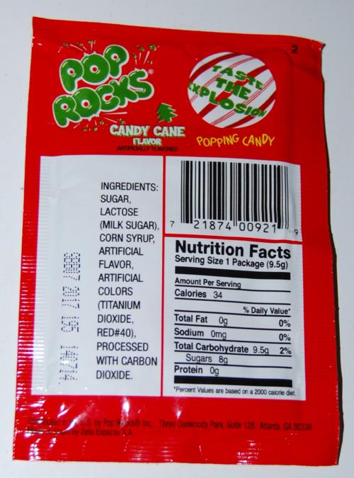 Candy cane pop rocks x