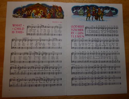 Vintage carols 1