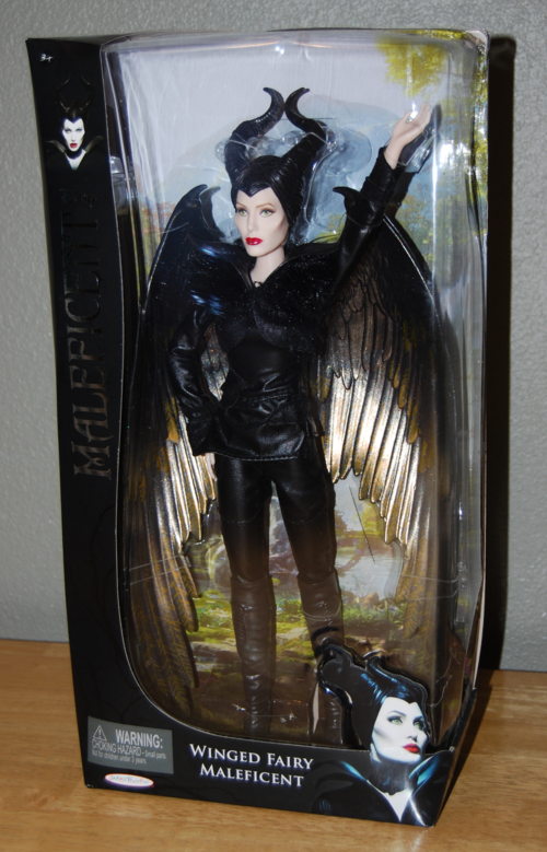 Winged fairy maleficent doll x