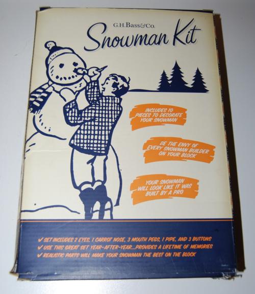 Snowman kit x