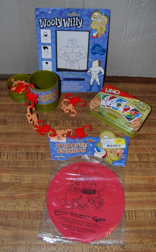 Ren & stimpy toys
