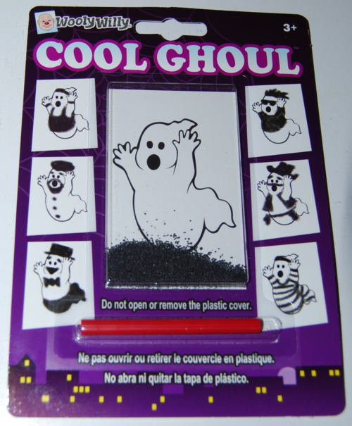 Wooly willy toy ghost