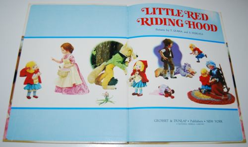 Little red riding hood book 1