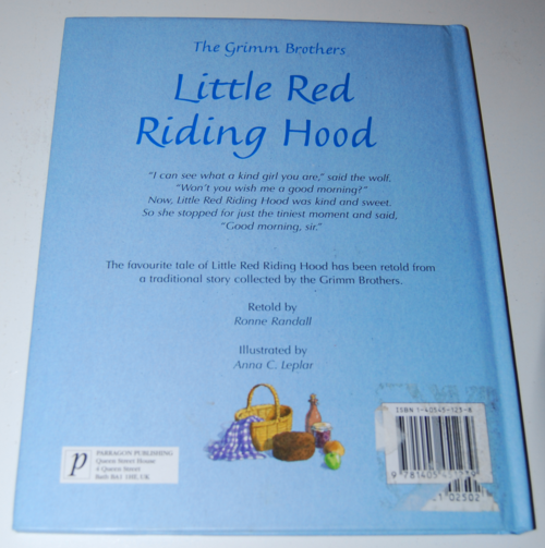 Little red riding hood paragon books 9