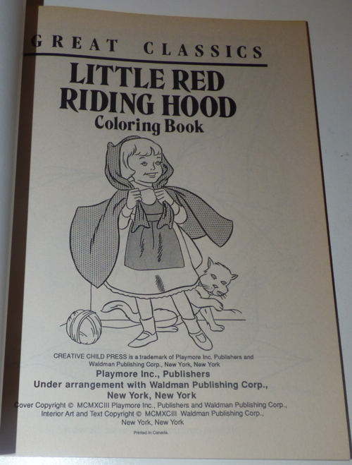 Little red riding hood books 51