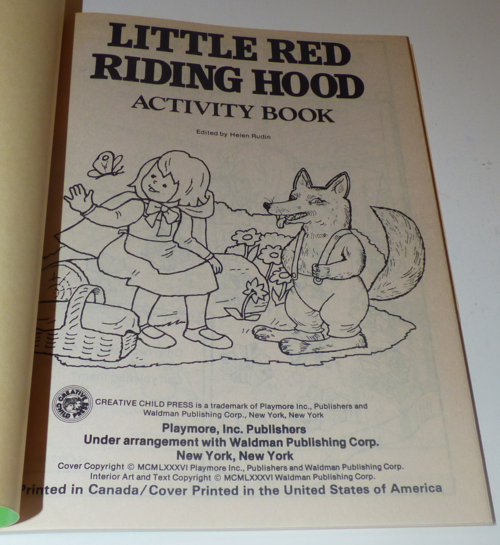 Little red riding hood books 42