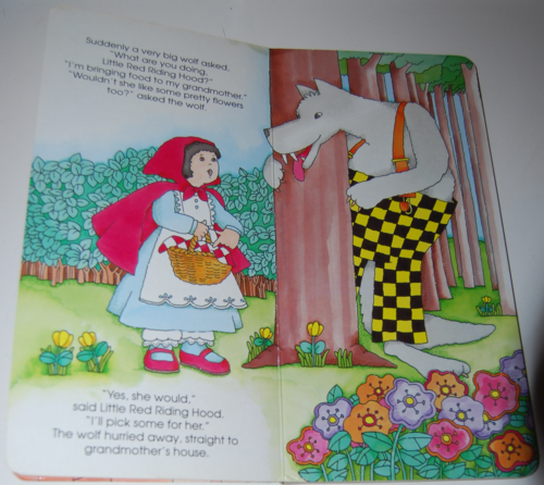Little red riding hood tall book 1