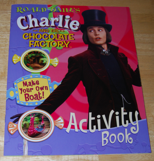 Charlie & the chocolate factory activity book