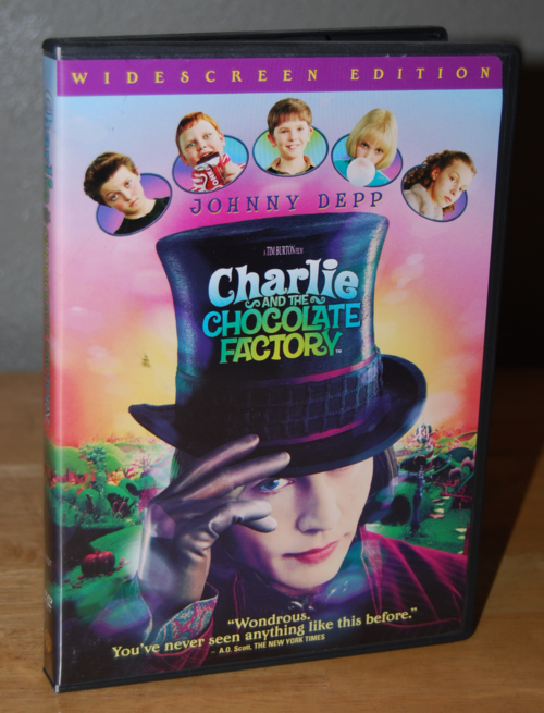 Charlie & the chocolate factory dvd