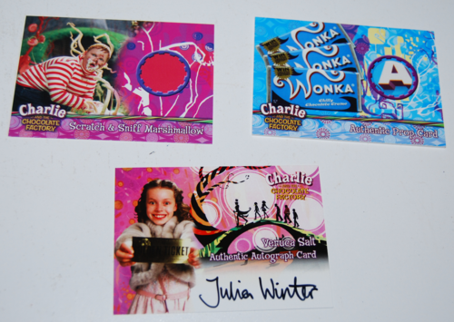 Charlie & the chocolate factory cards 6
