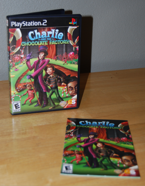Ps2 charlie & the chocolate factory videogame