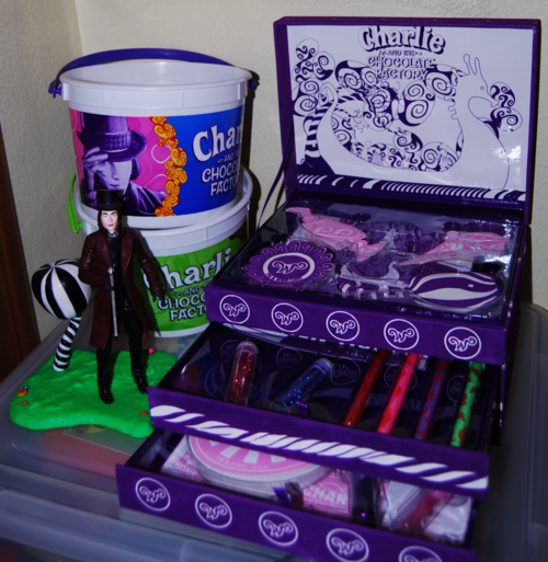 Charlie & the chocolate factory collectibles