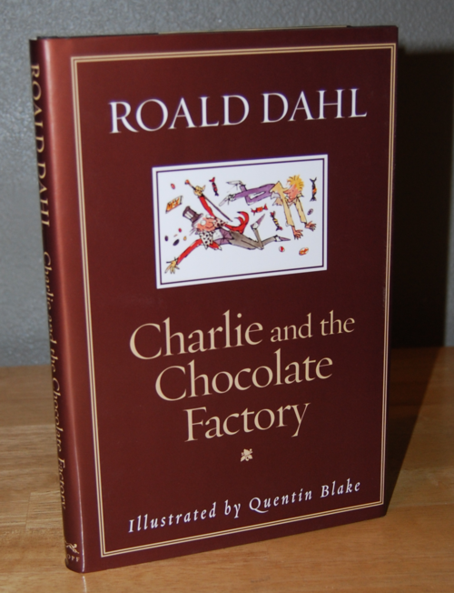 Roald dahl books charlie & the chocolate factory