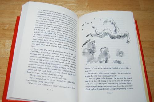Roald dahl books james & the giant peach 5
